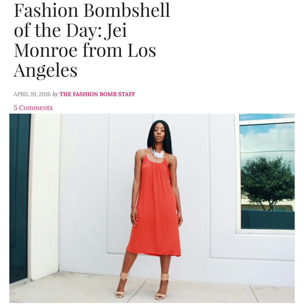 - Fashion Bomb DailyFashion Bombshell of the Day..