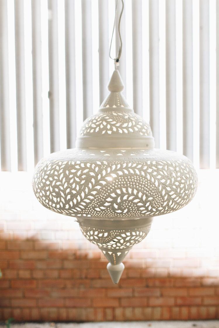 Large moroccan metal lamp shade.jpg