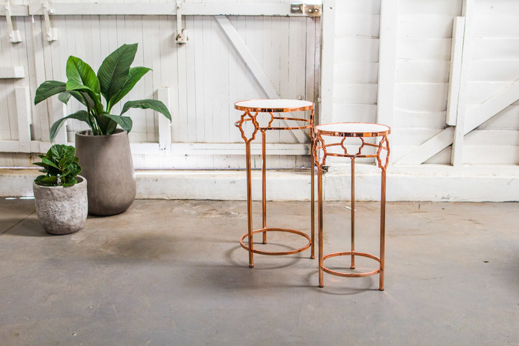 Rose Gold Arrow Metal Table.jpeg