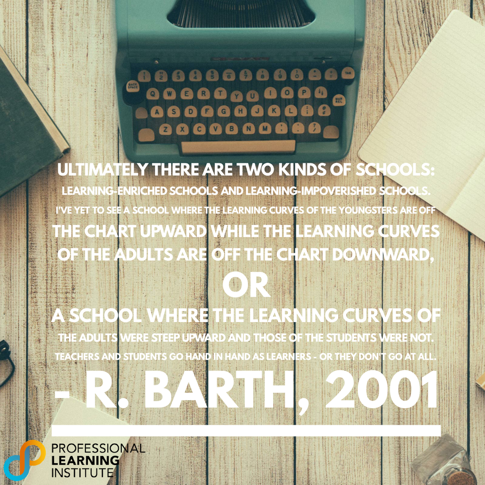 R Barth 2001 - NST Support by Professional Learning Institute