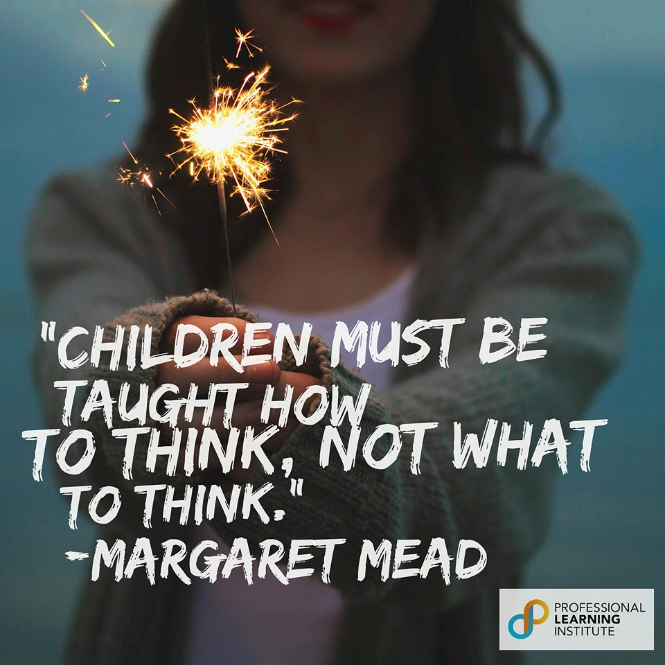 Margaret Mead - NST Support by Professional Learning Institute