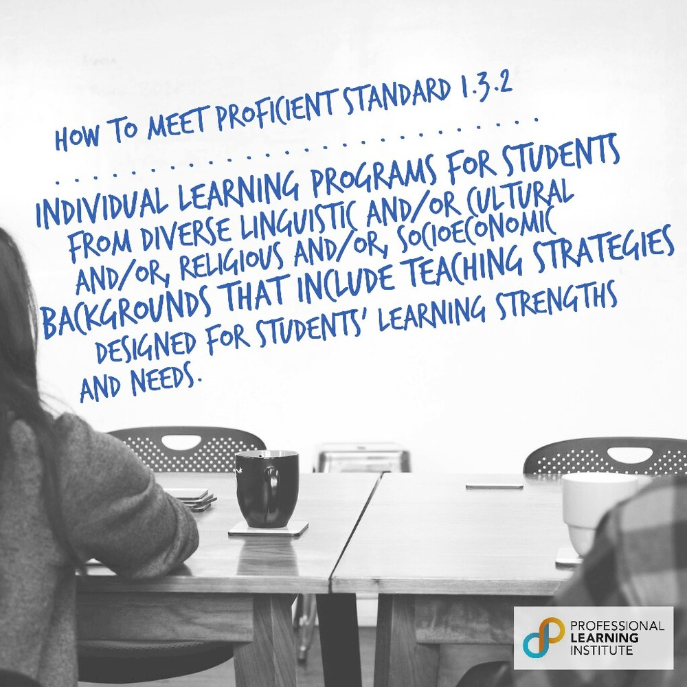 How to Meet Proficient Standard 5 - NST Support by Professional Learning Institute