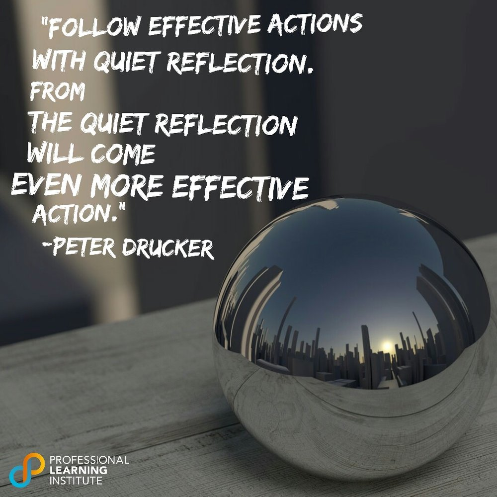 Peter Drucker - NST Support by Professional Learning Institute