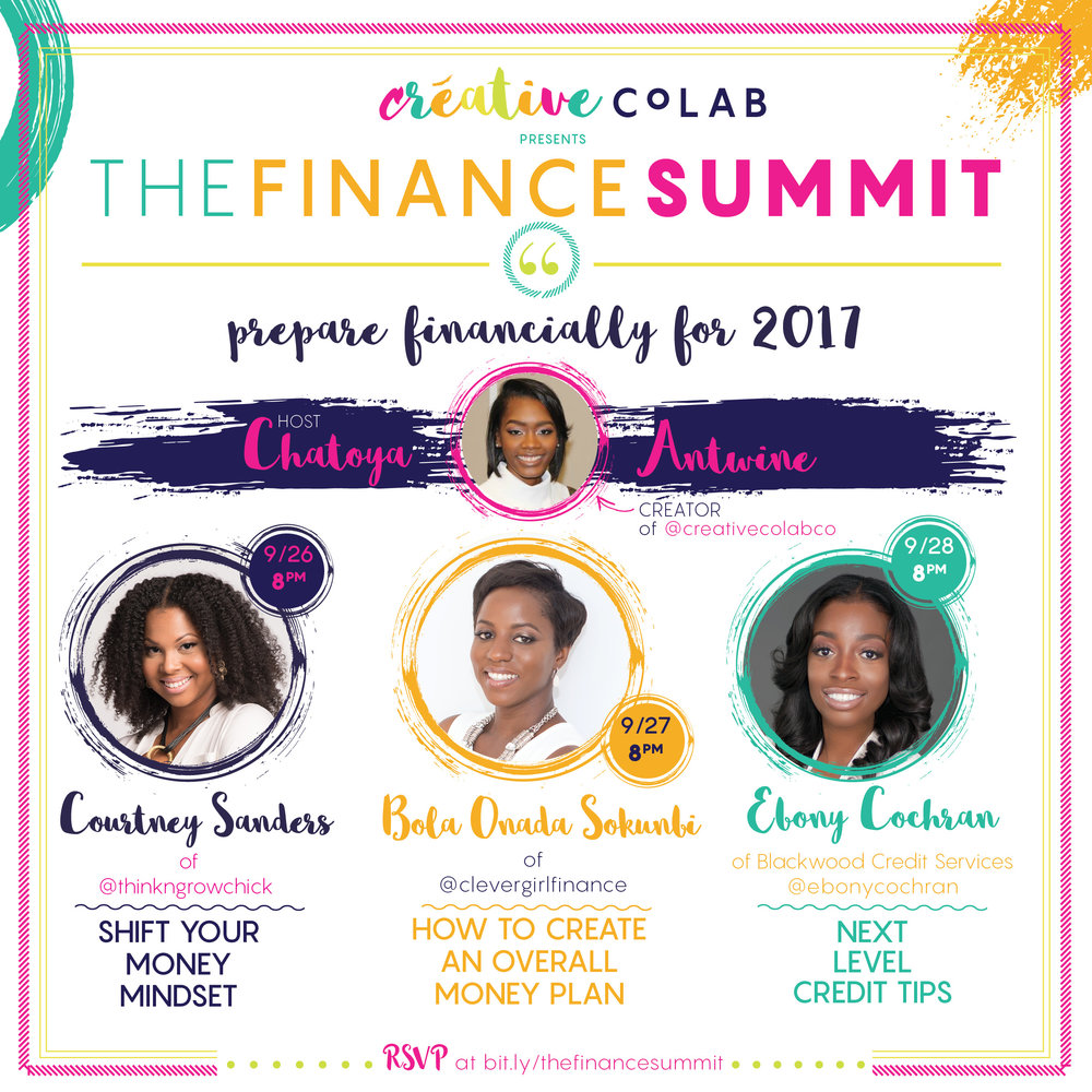 Creative CoLAB The Finance Summit