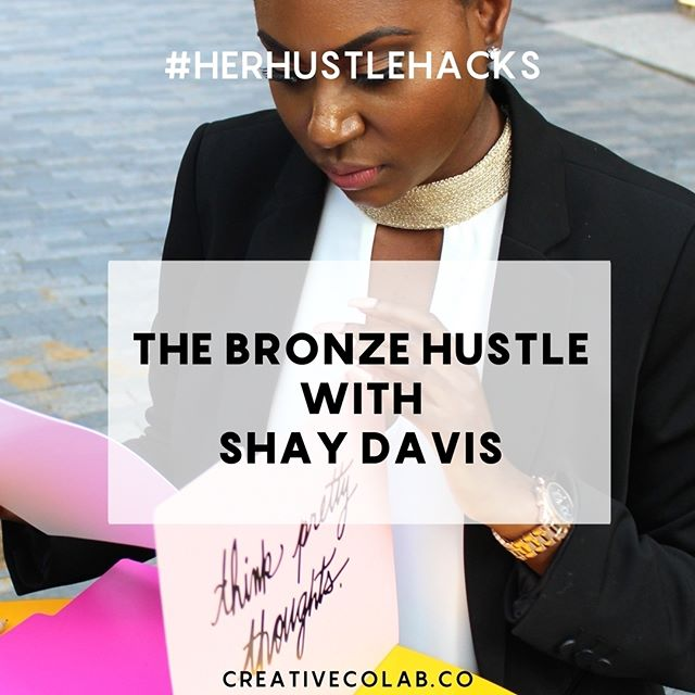 A lot of people paint the picture that having the title as an entrepreneur is all peaches and cream. But what they fail to mention is the struggles, failures, and mistakes it took to get them to the level of success they desire. I had a chance to chat with Shay Davis of @thebronzehustle and she wasn't afraid to tell her story how it is. She didn't have a blueprint or strategy when she first started. But what she did was START! And that's where most people fail. Read her interview on the blog. creativecolab.co or link in bio and head over to the blog #ToTheTopWeGo