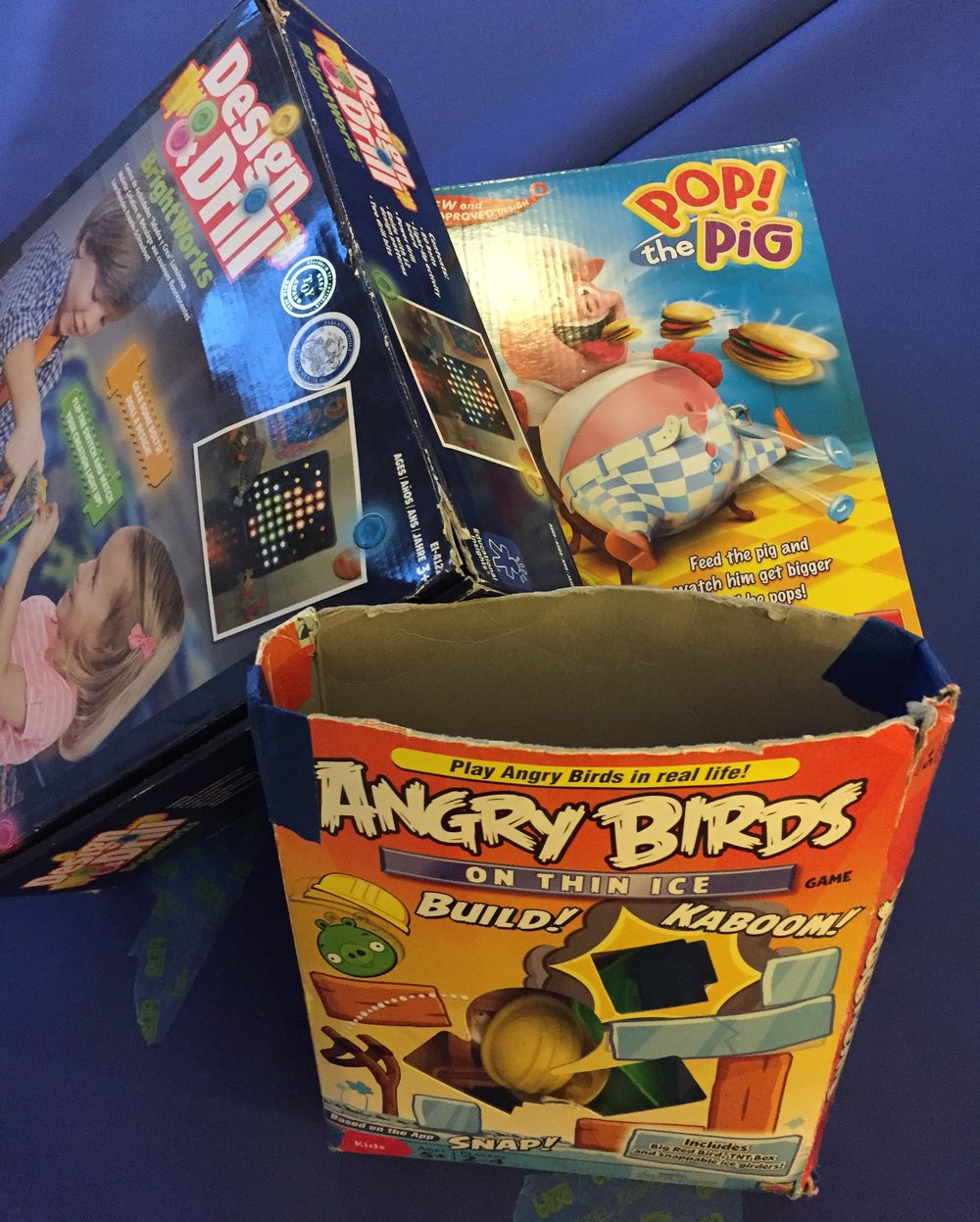 OT Activity of the Day- Games for 4-5 year olds!