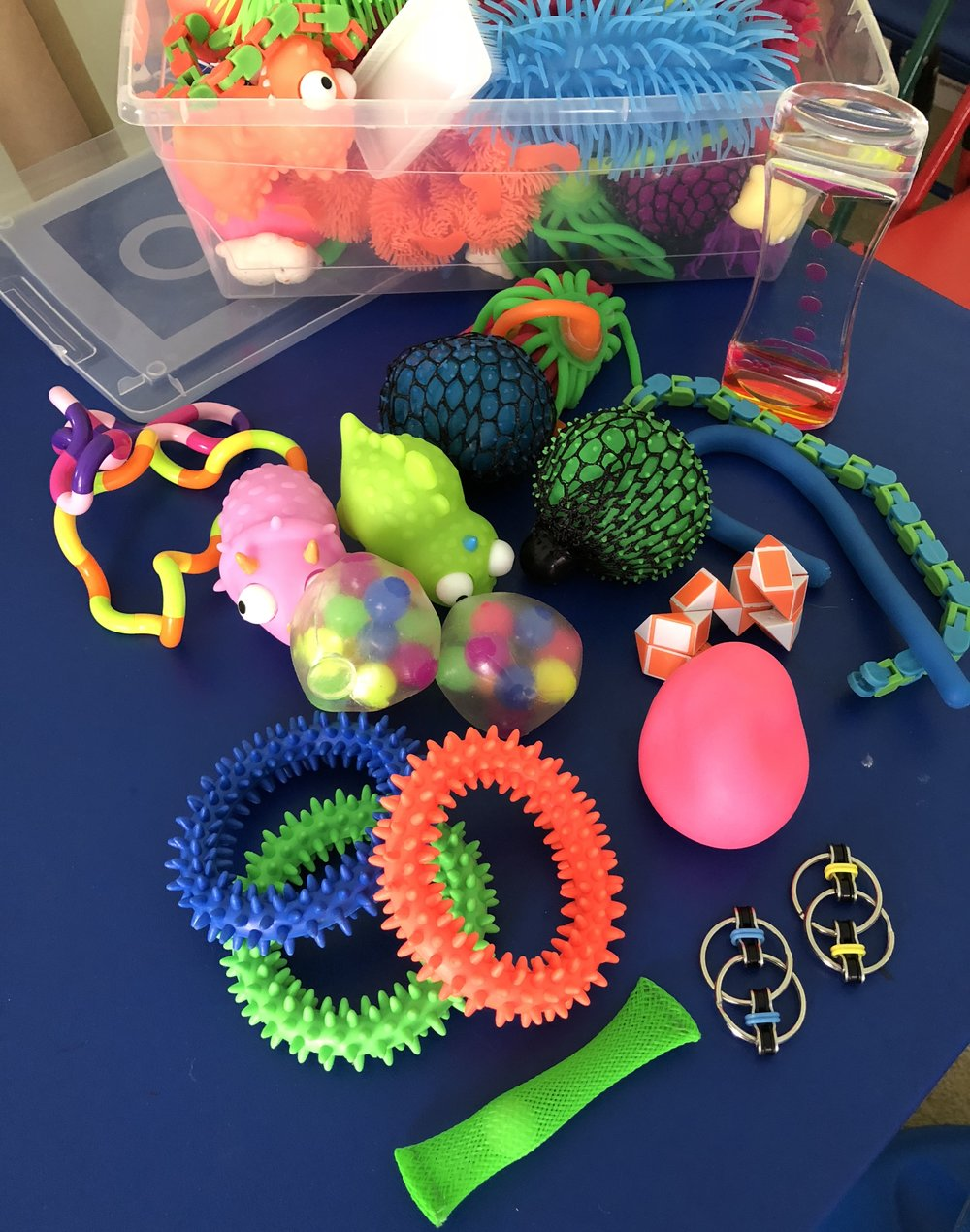 OT Activity of the Day- Sensory Fidgets