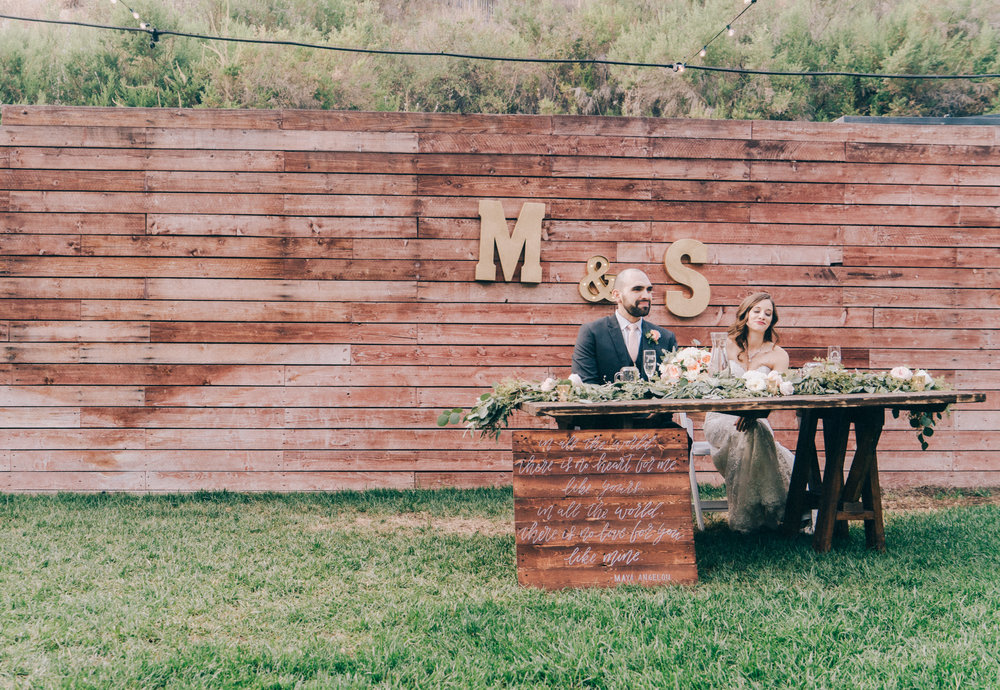 RUSTIC TOPANGA CANYON WEDDING (THE 1909)