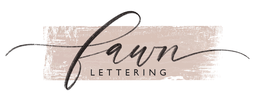 Fawn Lettering