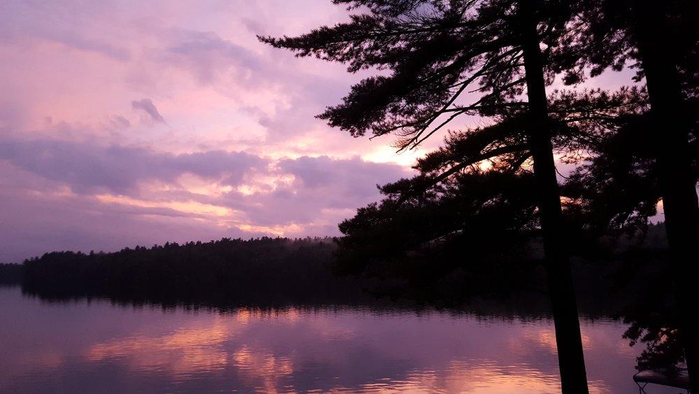 Pawtuckaway Sunset