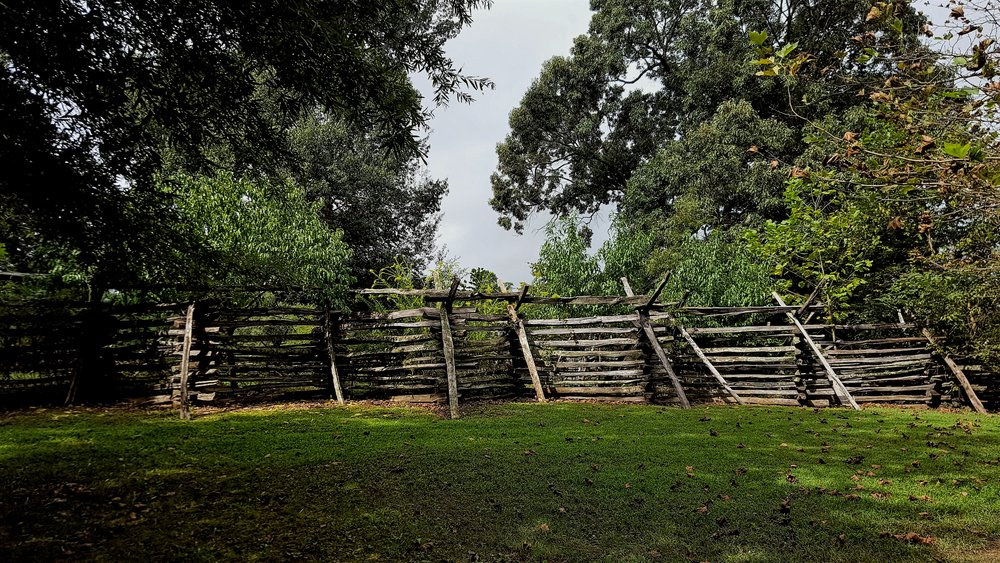 Colonial Williamsburg Fence