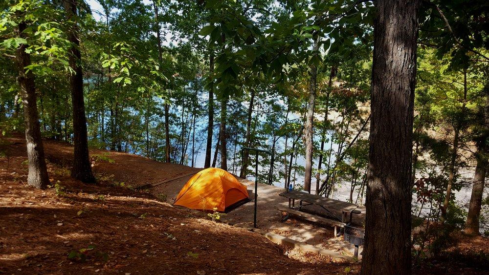 Carters Lake Campsite