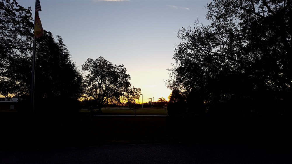 Leaving Cordele at Dawn