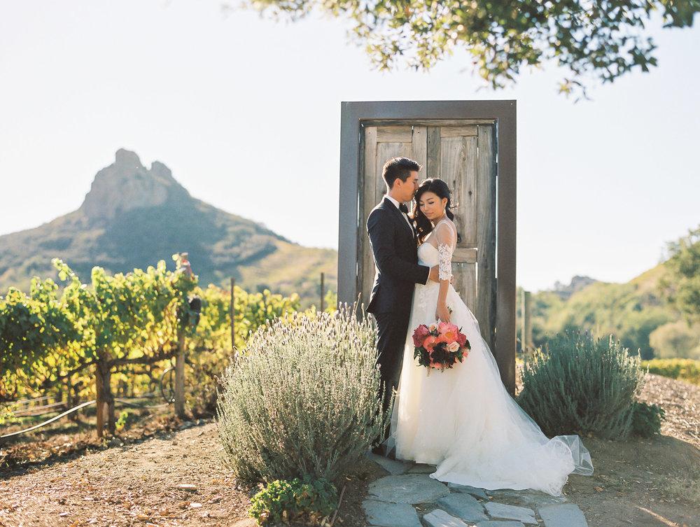Saddlerock Ranch Malibu Wedding Door to Everywhere