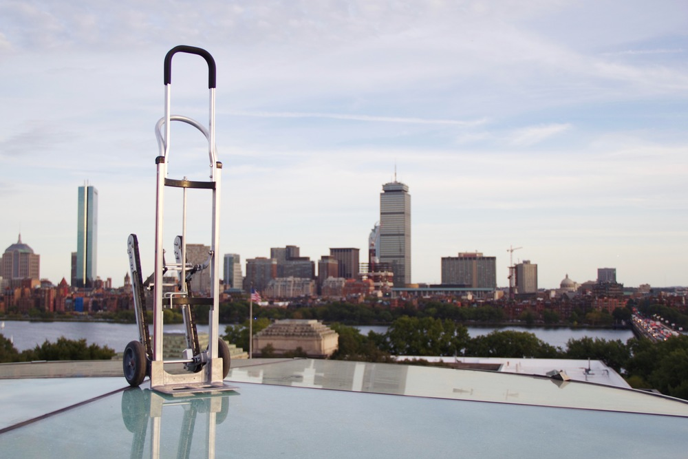 In 2012, a team of students in MIT's well-known product-design class, Course 2.009, invented a hand truck with fold-out treads and a braking system that made hauling kegs downstairs safer and easier. Now that hand truck, called the Glyde, is being used by hundreds of people worldwide.