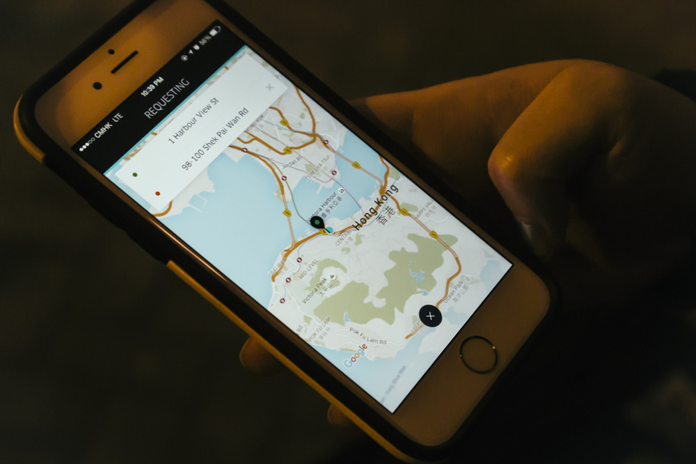 Uber in Hong Kong
