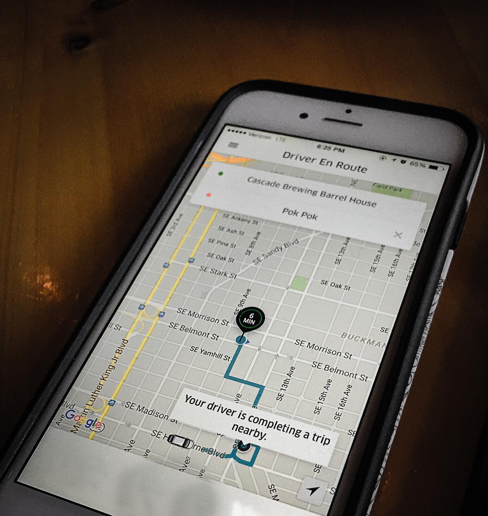 Uber In Portland