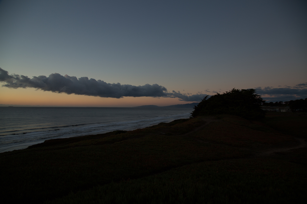 Nice Sky - Dark Foreground