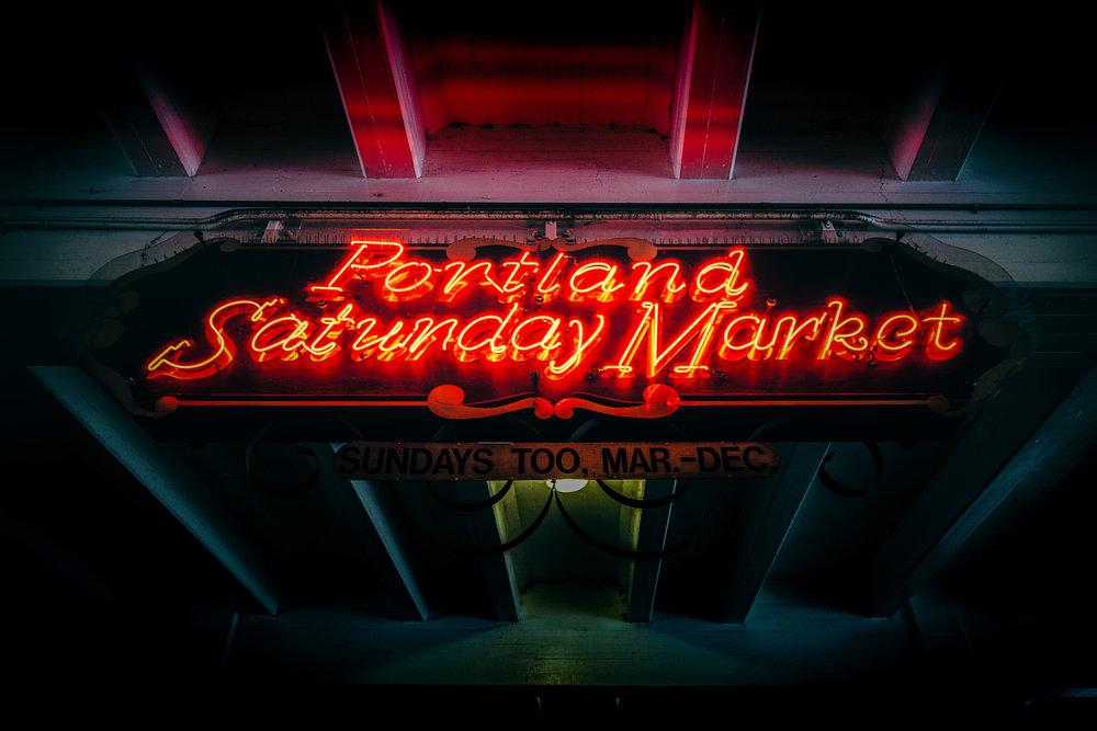 Portland Saturday Market - Portland, OR