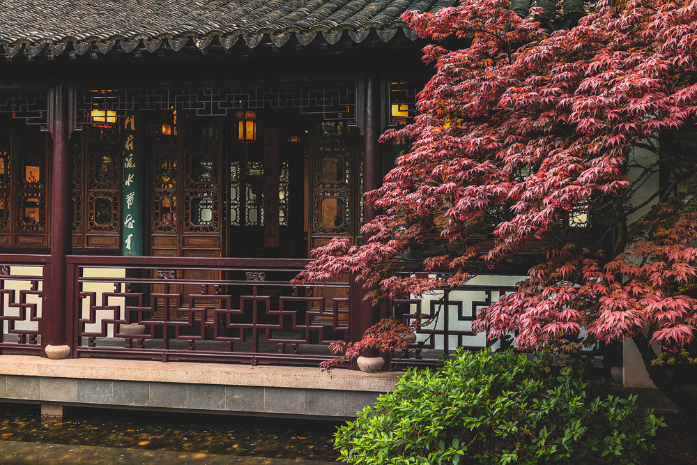 Lan Su Chinese Garden - Portland, OR