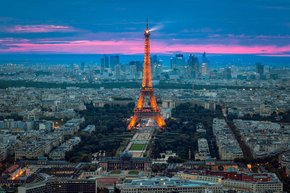 Taken from Observatoire Panoramique de la Tour Montparnasse - Eric Bravo Photography