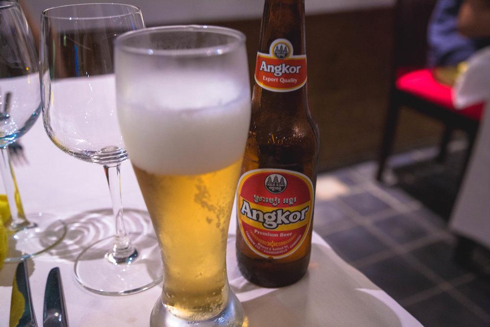 Angkor Beer - Cambodia