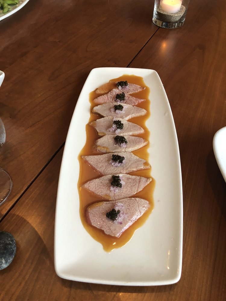 Seared Toro, Caviar - Nobu Malibu Review