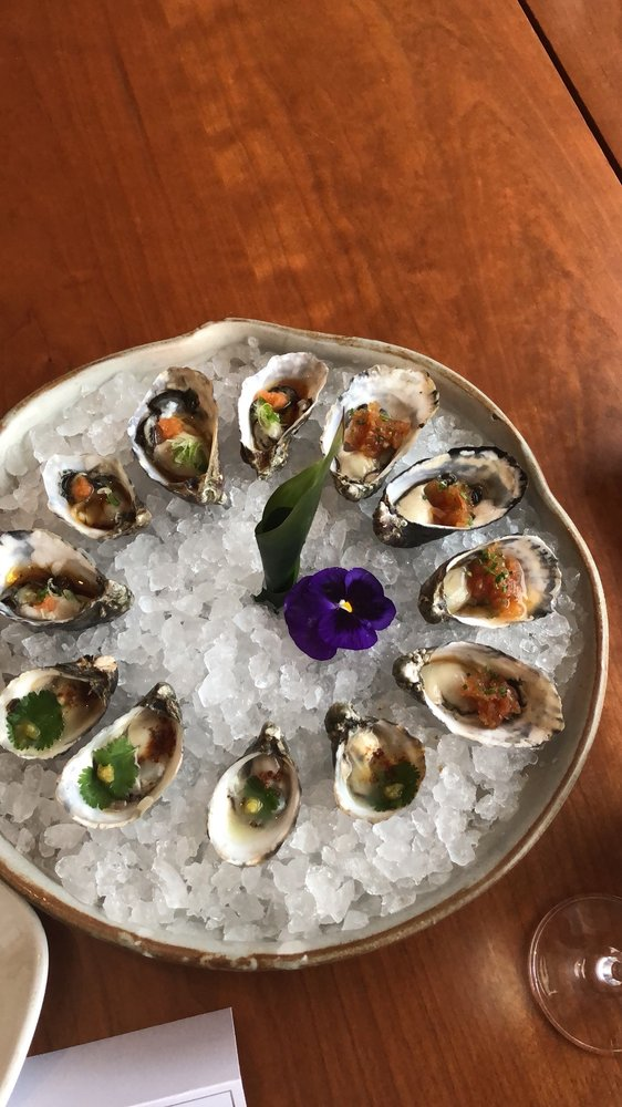 Kushi Oysters - Nobu Malibu Blog Review