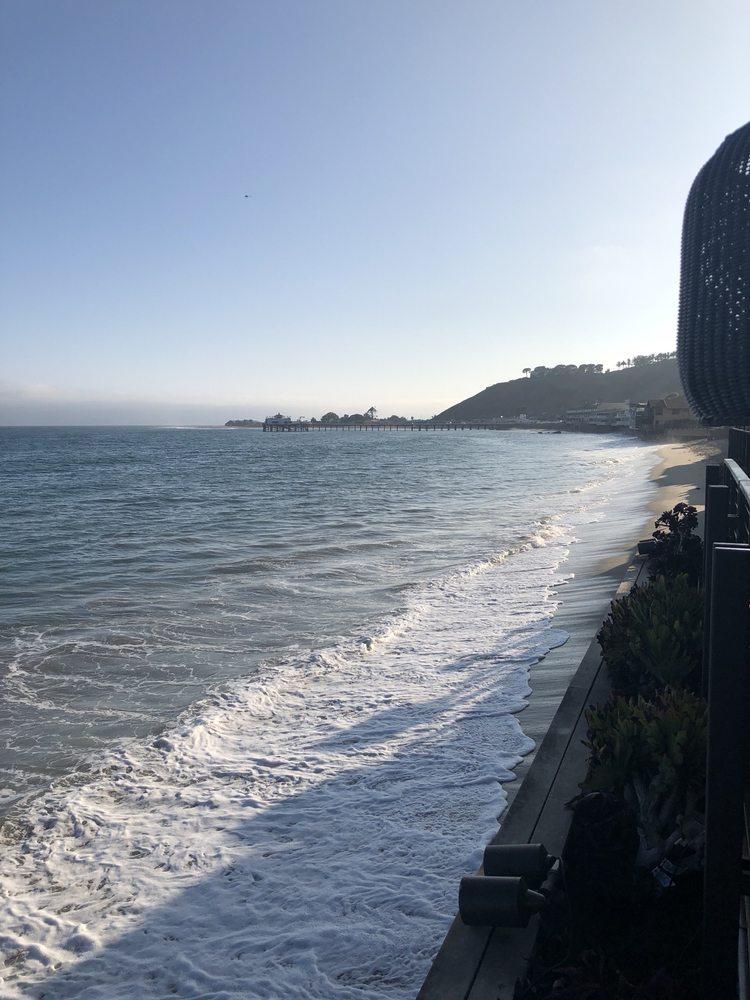 Patio View - Nobu Malibu Blog Review