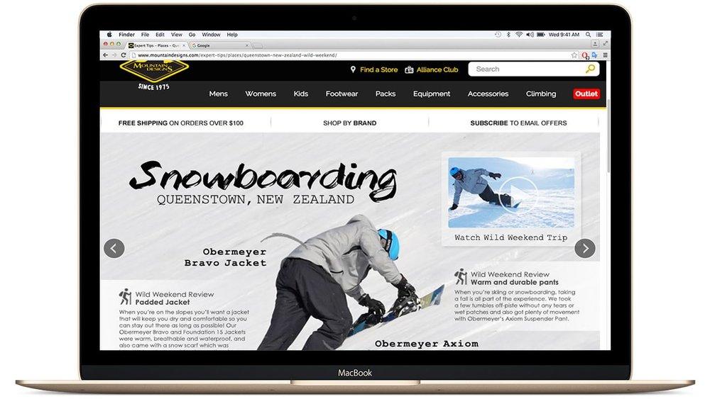 Snowboarding Queenstown NZ