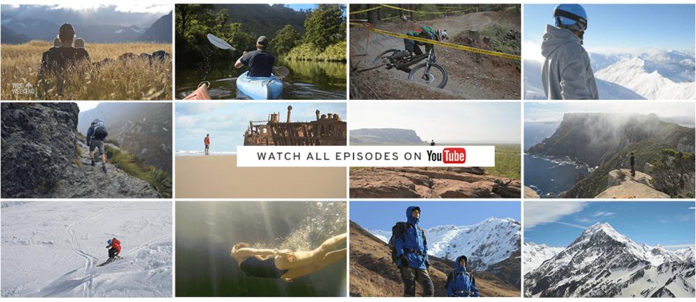 Video Thumbnails of Wild Weekend Web Series