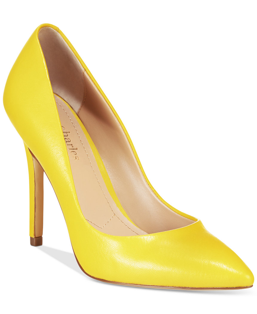Charles by Charles David Pact Pump in Yellow