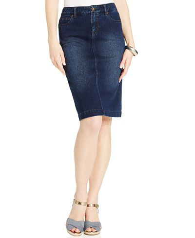 Style & Co. Denim Skirt