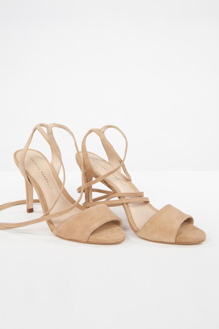 Anaphora Elyse Nude Sandals