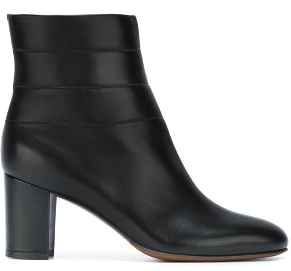 L'AUTRE CHOSE CHUNKY HEEL BOOTS