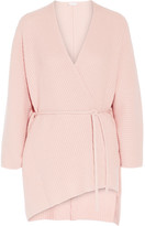 Eres - Morning Wool And Cashmere-blend Cardigan - Baby pink