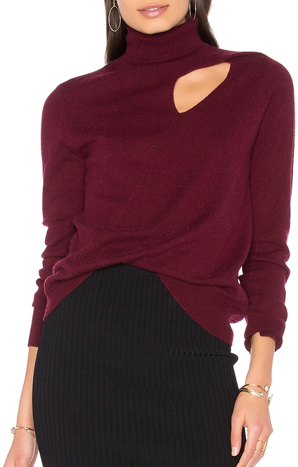 A.L.C. Billy Sweater in Bordeaux