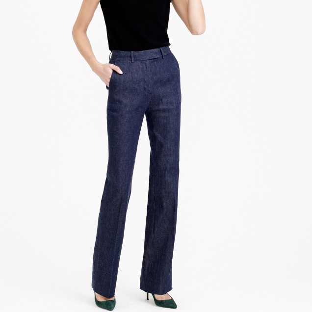 Collection Preston pant in Japanese denim - $198