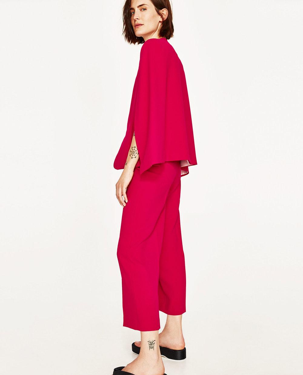 $35.90 - Zara Fuschia Culotte