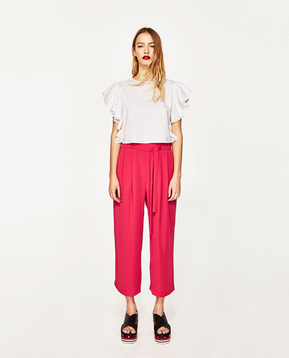 $35.90 Zara Pink Culotte