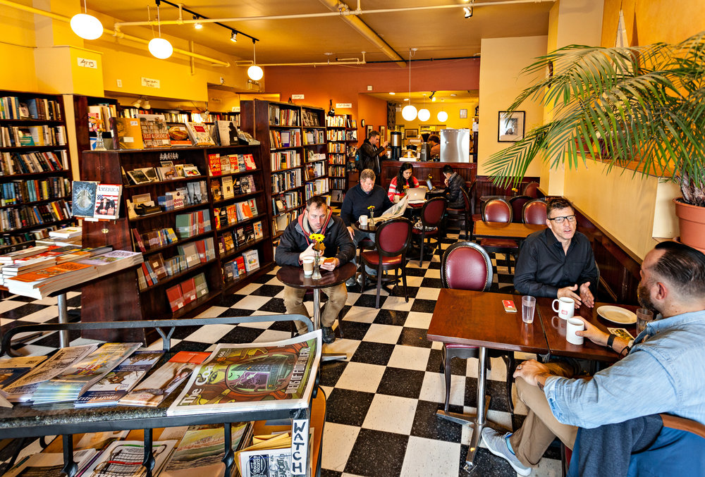 Trident Cafe and Book Sellers  photo by Marvin Moore