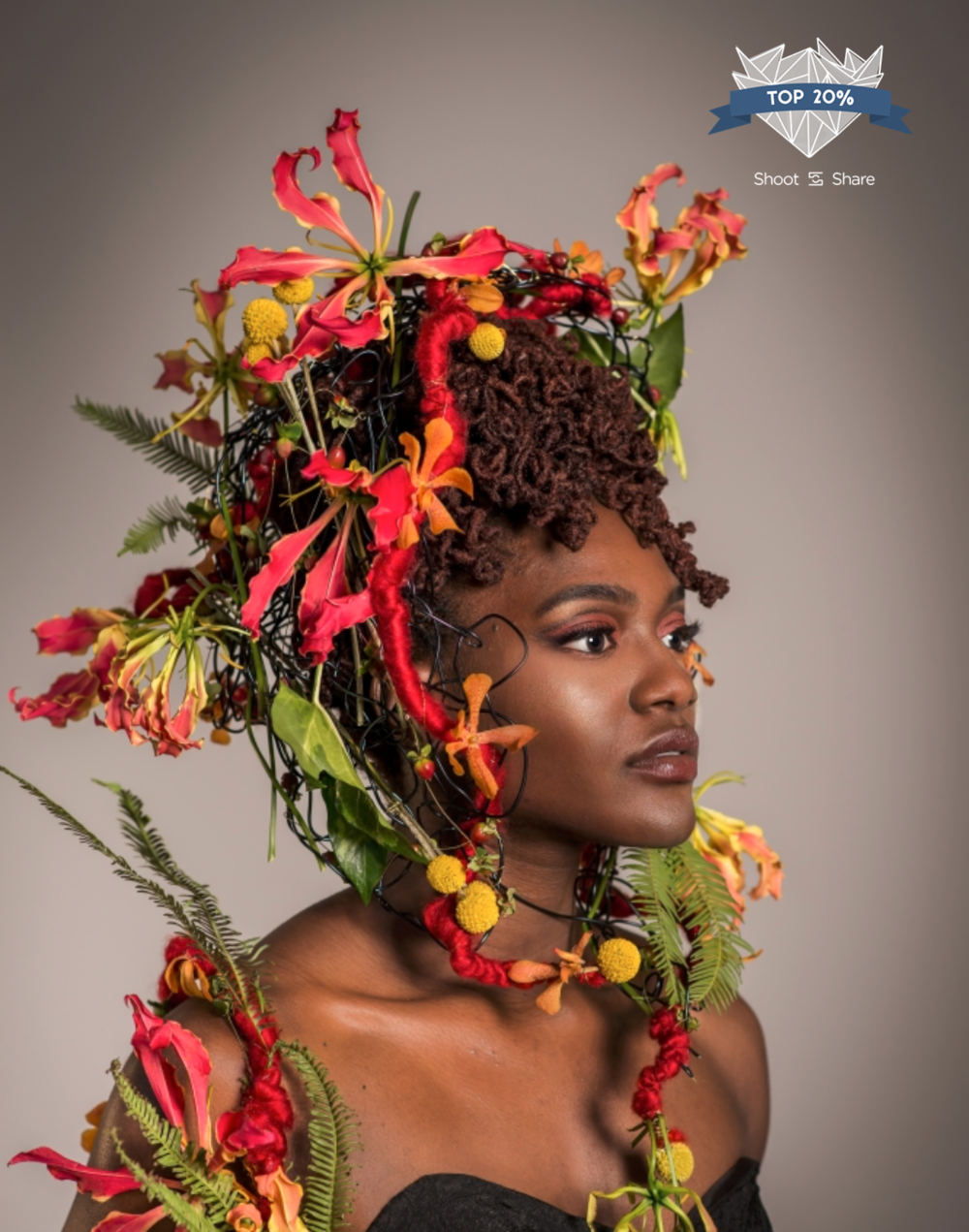 Psalms took #2,171 out of 11,101 images entered in the Styled Portrait/Fashion category.