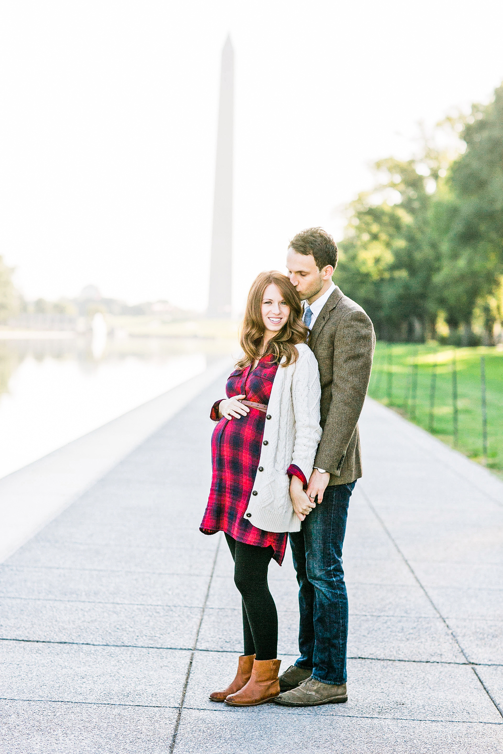 WASHINGTON DC MATERNITY: ASHLEY + DMITRY