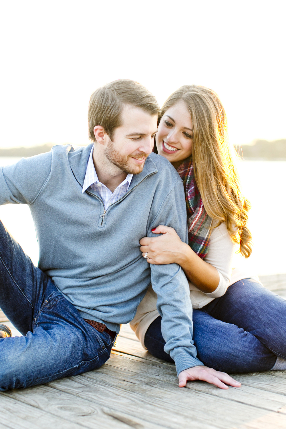 LAKESIDE ENGAGEMENTS: MORGAN + CHAD