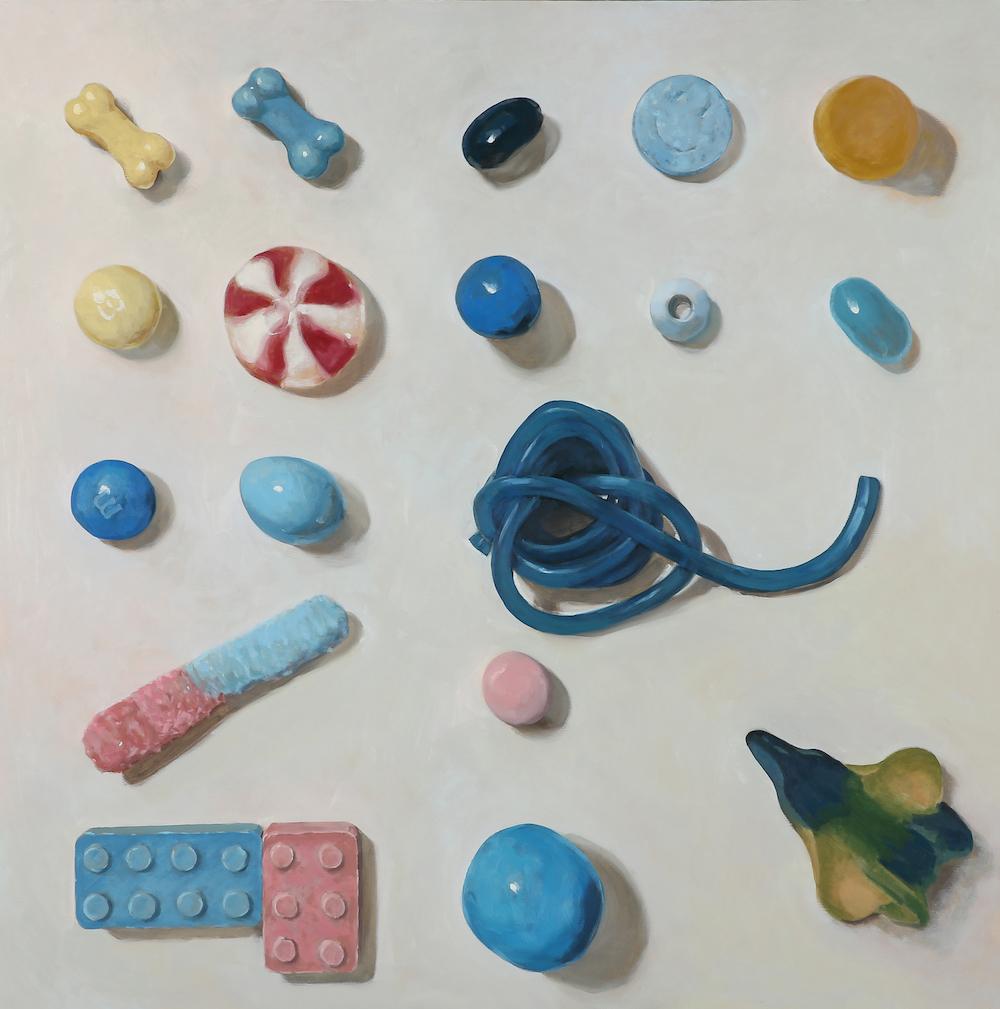 Arranged Candies No.14