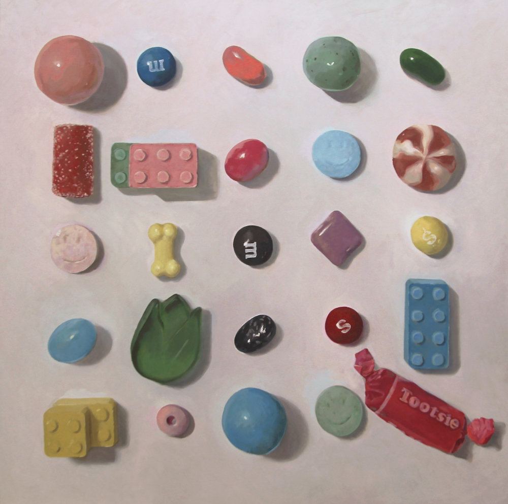 Arranged Candies No. 16