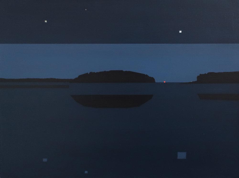 Night Study, Tenants Harbor