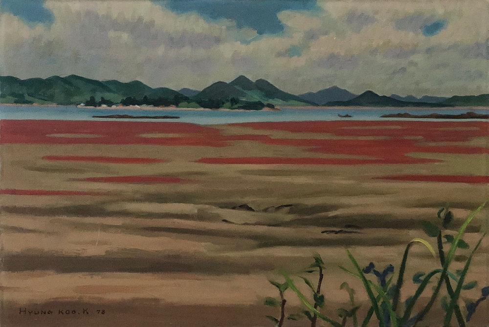 Landscape of West Sea, 1978 (in Korea)