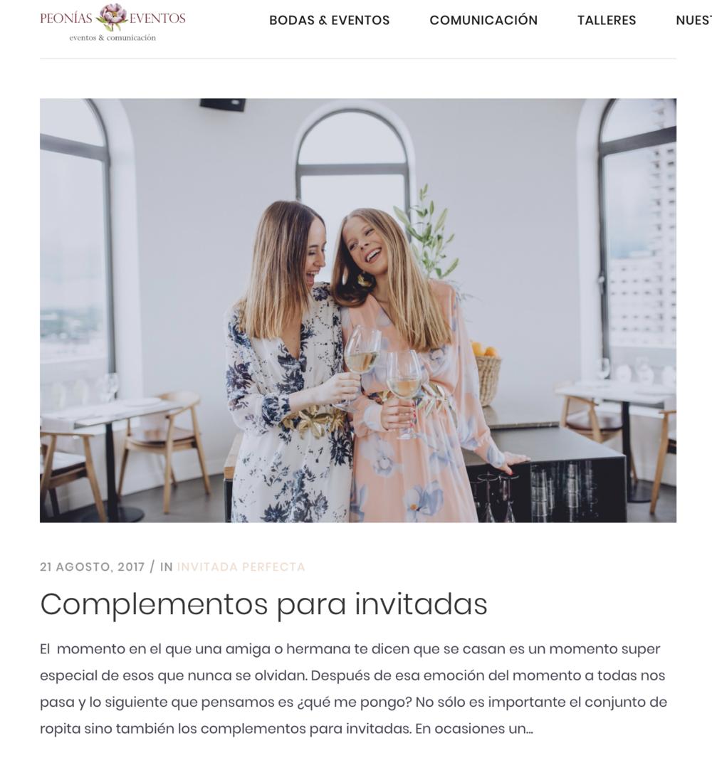 Peonias Eventos & Comunicació     n