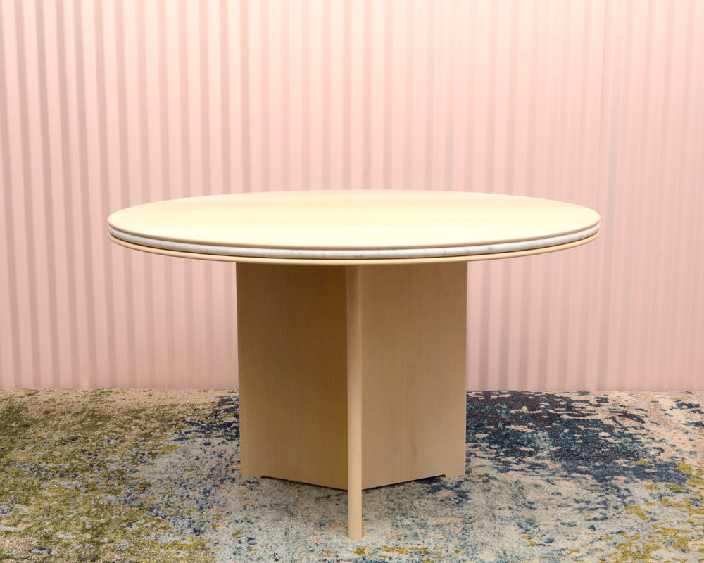 ROUND DINING TABLE SMORE  $5,300